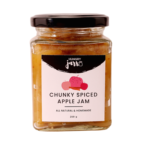Chunky Spiced Apple Jam