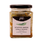 Stuffed Green Chilli Pickle
