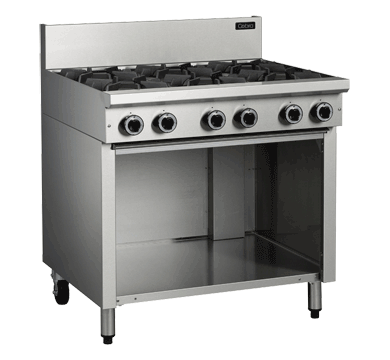 Blue Seal Cobra Cooktop 6 Burners Gas Cabinet Base 900mm C9D