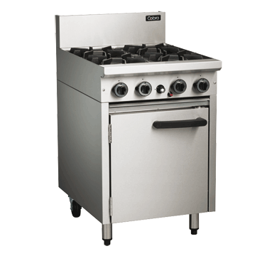 Blue Seal Cobra 4 Burner Static Gas Oven Range 600mm CR6D
