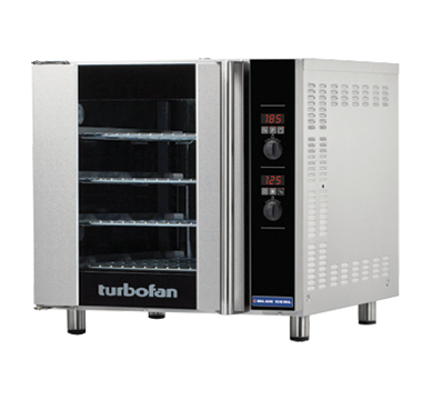 Blue Seal Turbofan 735mm(W)  Electric Convection Oven 4 460 x 660mm Grid E32D4