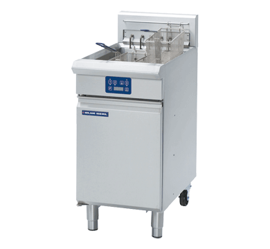 Blue Seal Evolution Single Tank Fryer with Elec Controls Electric 450mm E43E