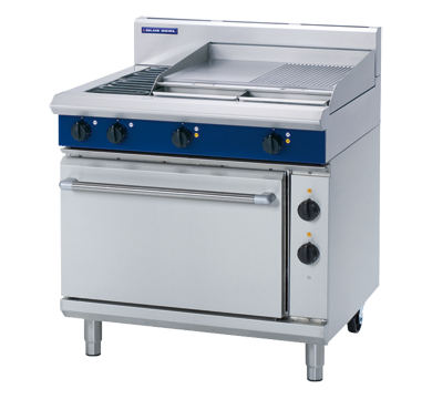 Blue Seal Evolution Electric 2 Element/2 Griddle Oven Range 900mm E506B