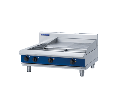 Blue Seal Evolution Cooktop 2 Element/2 Griddle 900mm E516B-B