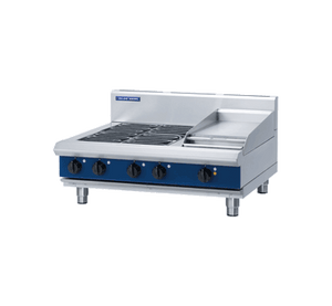 Blue Seal Evolution Cooktop 4 Element/1 Griddle 900mm E516C-B