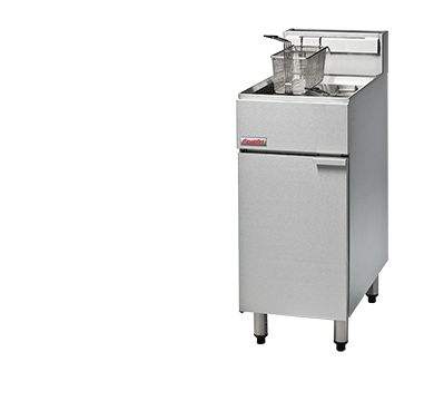 Blue Seal FastFri Free Standing Gas Single Fryer 400mm FF18
