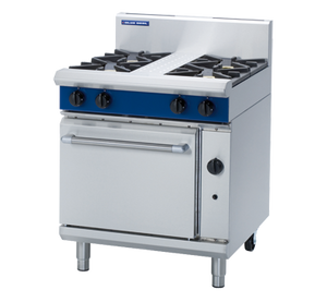 Blue Seal Evolution 4 Burner Static Oven Gas 750mm G505D