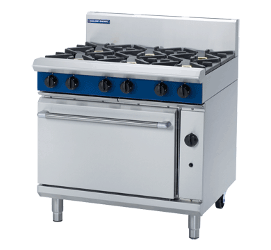 Blue Seal 6 Burner Gas Oven Range 900mm G506D