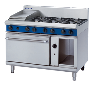 Blue Seal Evolution 6/1 Griddle Burner Static Oven Gas 1200mm G508C