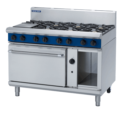 Blue Seal Evolution 8 Burner Static Oven Gas 1200mm G508D