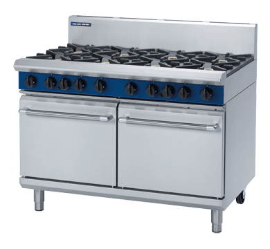 Blue Seal Evolution 8 Burner Double Static Oven Gas 1200mm G528D