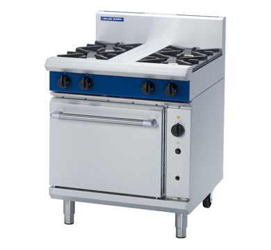 Blue Seal Evolution 4 Burner Convection Oven Gas 750mm G54D
