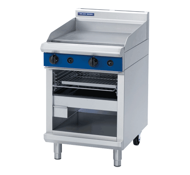 Blue Seal Evolution Full Griddle Toaster Gas 600mm G55T