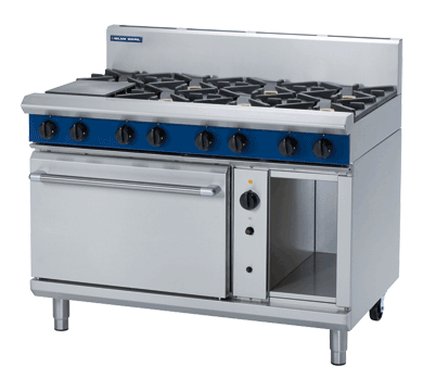 Blue Seal Evolution 8 Burner Convection Oven Gas 1200mm G58D