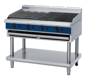 Blue Seal Evolution Chargrill with Leg Stand Gas 1200mm G598 - LS