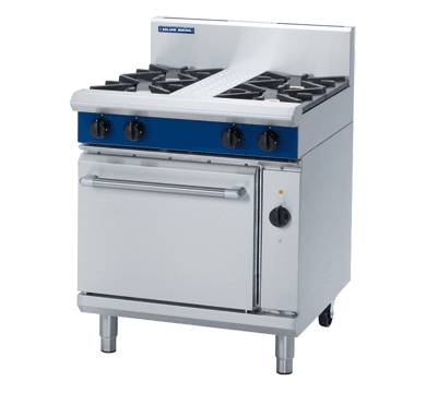 Blue Seal Evolution 4 Burner Electric Convection Oven Gas 750mm GE54D
