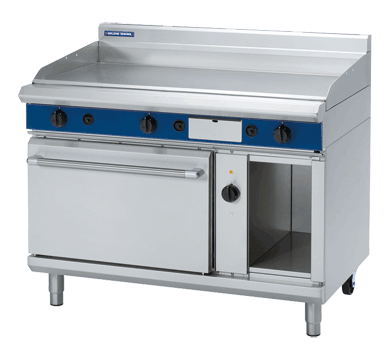 Blue Seal Evolution Gas Chrome Full Griddle Electric Convection Oven 1200mm GPE58