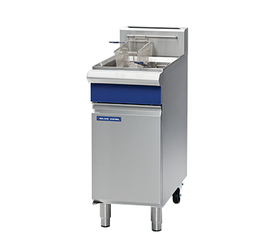 Blue Seal Freestanding Single Tank Fryer Gas 450mm GT18