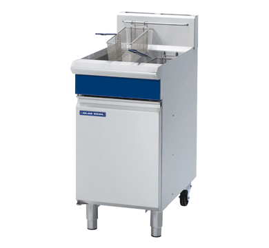 Blue Seal Free Standing Gas Single Fryer 450mm GT45