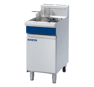 Blue Seal Free Standing Gas Twin Fryer 450mm GT46