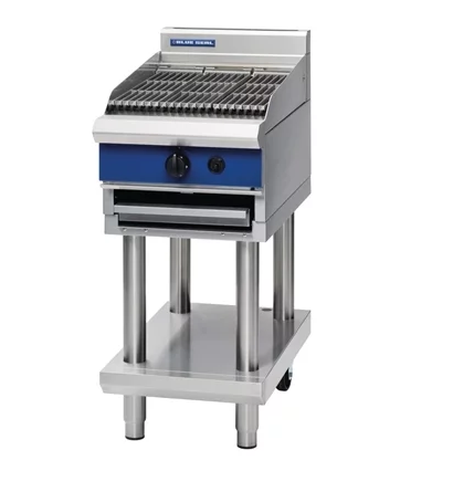 Blue Seal Evolution Chargrill on Leg Stand Gas 450mm G593