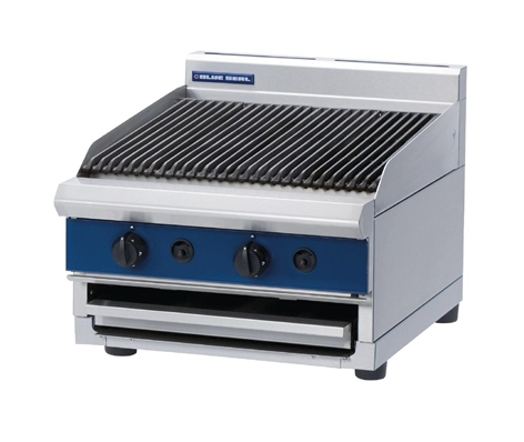 Blue Seal Countertop Chargrill Gas 600mm G594B