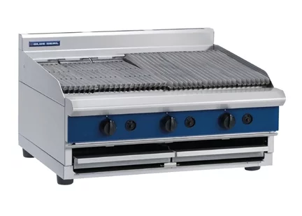 Blue Seal Countertop Chargrill Gas 900mm G596B