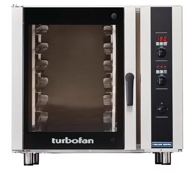 Blue Seal Turbofan 910mm(W) Electric Convection Oven 6 406mm x 736mm Grid E35D6