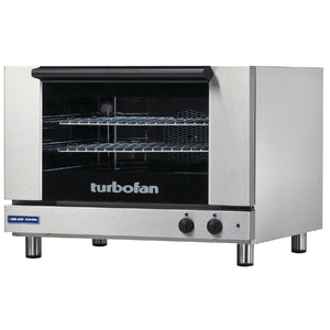 Blue Seal Turbofan 810mm(W) Electric Convection Oven 2 600 x 400mm Grid E27M2