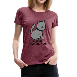 Silently Judging You! Women's Premium T-Shirt - Anything Goes store