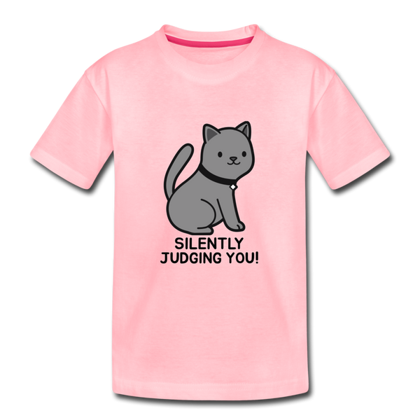 SILENTLY JUDGING YOU! Kids' Premium T-Shirt - Anything Goes store
