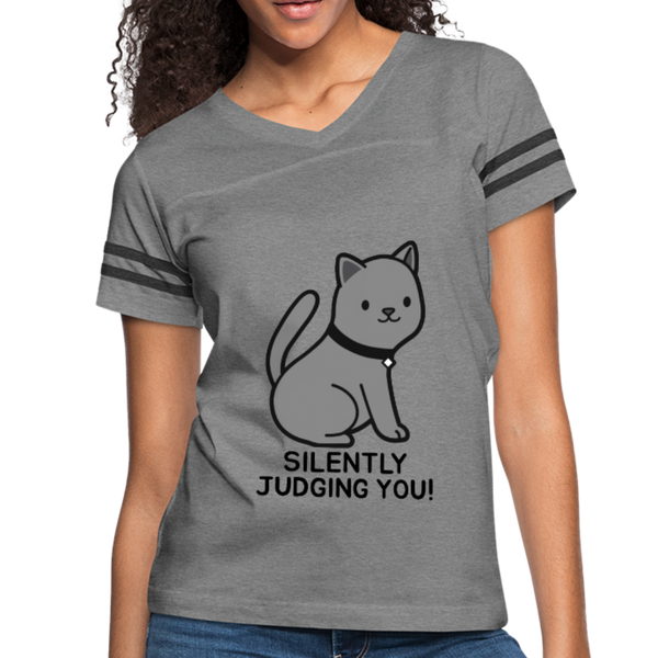 SILENTLY JUDGING YOU! Women's Vintage Sport T-Shirt - Anything Goes store