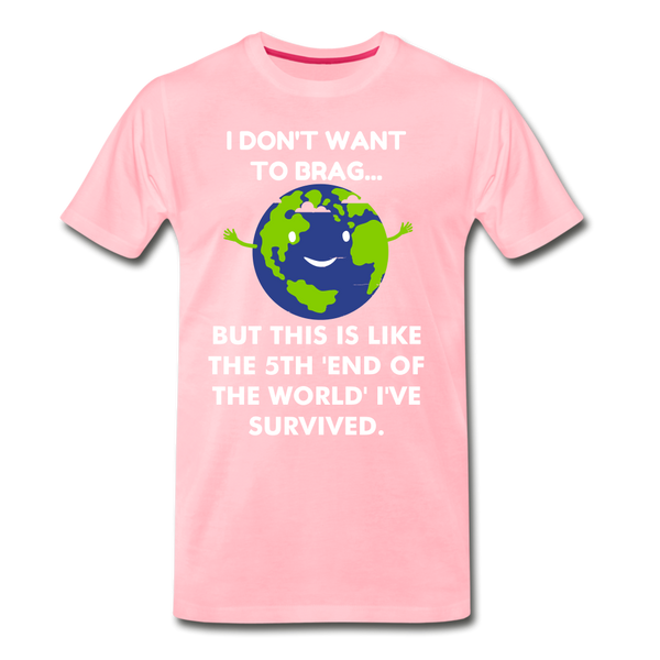 Funny Earth Men's Premium T-Shirt - Anything Goes store