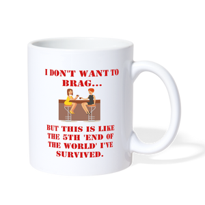 LIFE BEGINS AFTER COFFEE - Coffee/Tea Mug - Anything Goes store