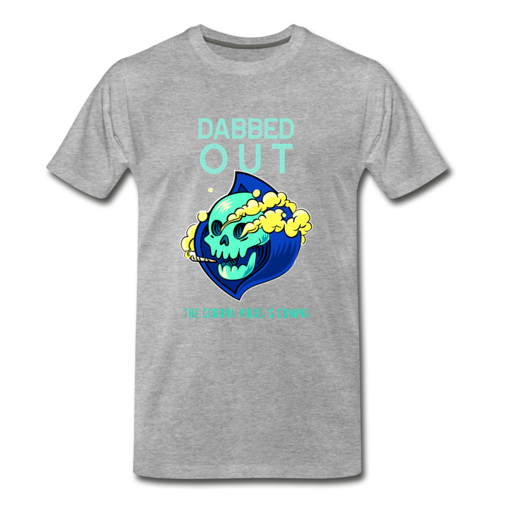 DABBED OUT THE CORONA VIRUS IS COMING Men's Premium T-Shirt - Anything Goes store