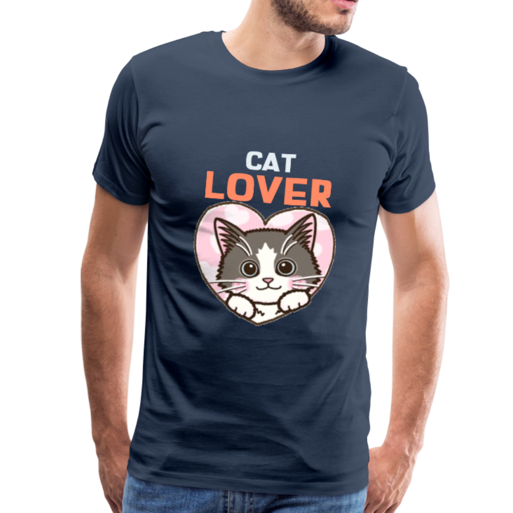 Cat Lover Men's Premium T-Shirt - Anything Goes store