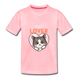 Cat Lover Kids' Premium T-Shirt - Anything Goes store