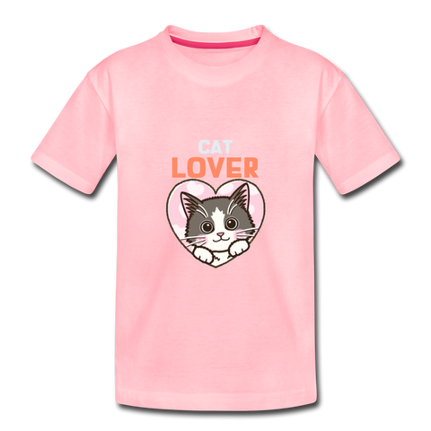 Cute Cat Lover Toddler Premium T-Shirt - Anything Goes store