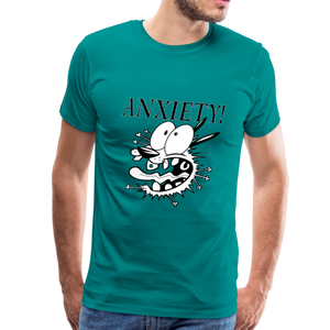 ANXIETY! Men's Premium T-Shirt - Anything Goes store