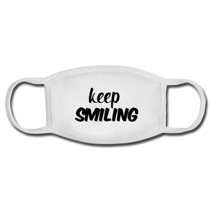 Keep Smiling Face Mask - Anything Goes store