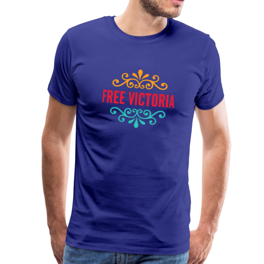 Free Victoria! Men's Premium T-Shirt - Anything Goes store