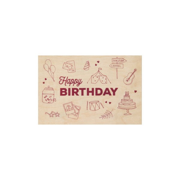 Carte Greeting Birthday