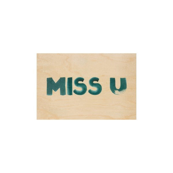Carte Miss you