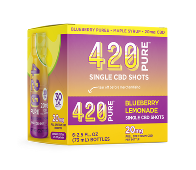 Blueberry Lemonade Hemp Shot
