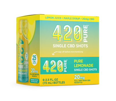 Pure Lemonade Hemp Shot