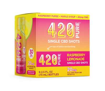 Raspberry Lemonade Hemp Shot