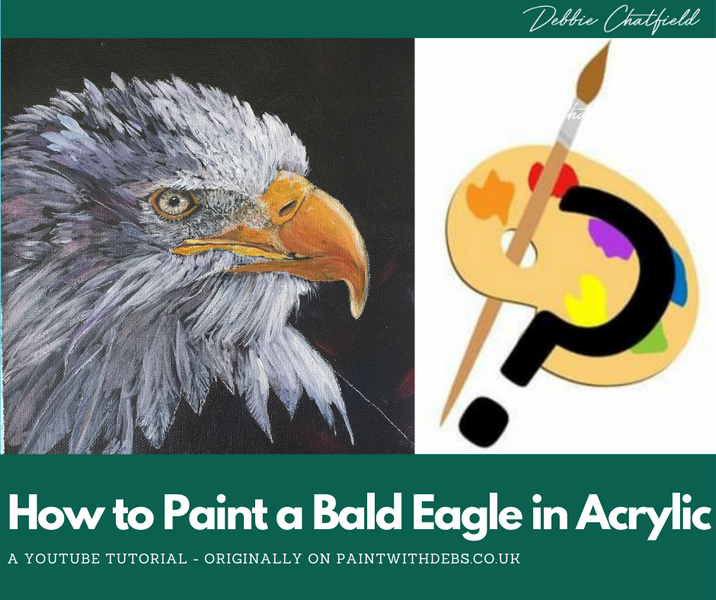 How to Paint a Bald Eagle in Acrylic