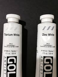 Mixing White vs. Titanium White - Why Use Mixing White to Paint Eyes?