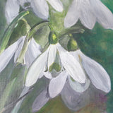 Spring in Paint with Debs - Snowdrops