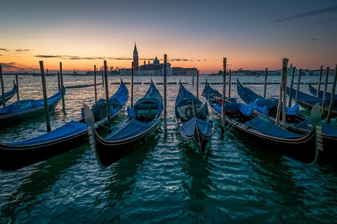 Photo of Gondolas in Venice Source Boris Ulzibat from Pexels